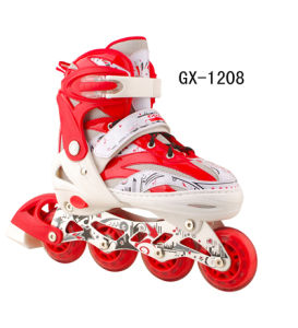 Inline Skate with Eight Flash Wheels (GX-1208)