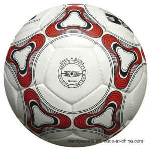 High Quality Hand Stitched PU Leather Soccerball pictures & photos
