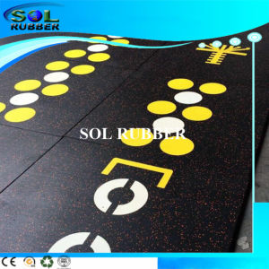 Slip-Resistant Heavy Duty Wear Area Rubber Flooring pictures & photos