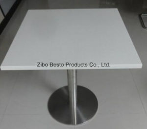 10mm Tempered Table Top Glass with Round Corners, Polished Edge pictures & photos