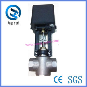 Proportional-Integral Screw Motorised Valve of Five Sets (DN-40) pictures & photos