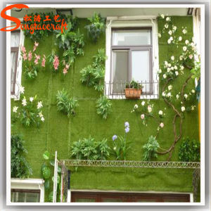 Cheap High Quality Artificial Turf Green Grass Wall pictures & photos