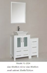 Sanitary Ware Bathroom Vanity Furniture with Glass Mirror