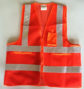 High Visibility Protective Clothing Safety Vest pictures & photos
