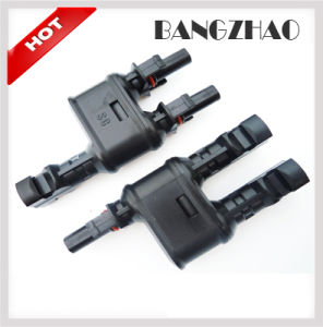 Photovoltaic Accessories 2 to 1 Branch PV Mc4 Connector pictures & photos