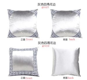 Pillow with Ribbon Massage Pillow Silk Velvet Calssic Style pictures & photos