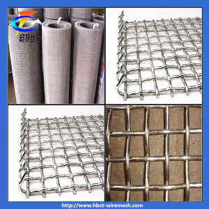 (Stainless steel) Crimped Wire Mesh pictures & photos