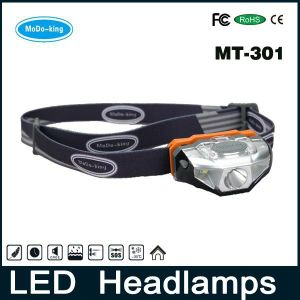 Modoking Headlight 3 Modes, Cheap Head Light Headlamp for Outdoor Sport
