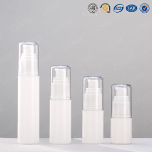 15ml 30ml 50ml 80ml 100ml Quality Clear Plastic Pet as Airless Pump Spray Bottle pictures & photos