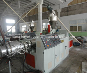 High Quality 50-110mm Plastic PVC Pipe Extrusion Machine pictures & photos