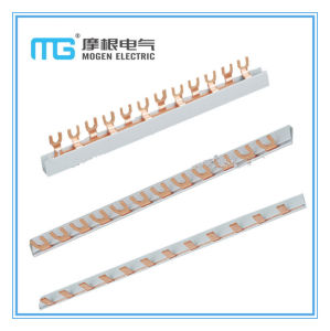 63A /1p 3p Comb U-Type Insulated Copper Connector Busbar pictures & photos