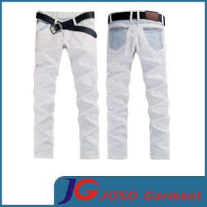Specing Colour Pocket Hamiltom Withe Jeans (JC3309) pictures & photos