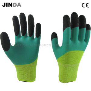 Latex Foam Coated Labor Protective Safety Work Gloves (NH303) pictures & photos