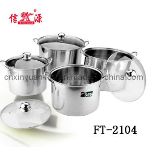 Stainless Steel Stock Pot (FT-2104)