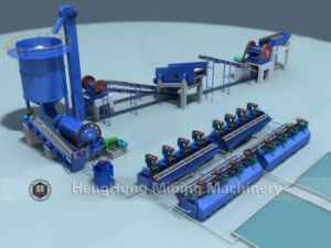 Flotation Separation Production Line Flow Chart for Reference