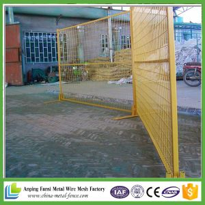 Canada Powder Coating 6X10FT Construction Temporary Fence Hire pictures & photos