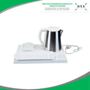 Hotel Guestroom Electric Kettle Set with Trays pictures & photos