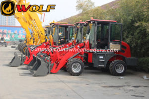 1000kg Rated Load Hydraulic Transmission Wheel Loader for Sale pictures & photos