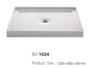 1.2 Meter Long Three Flange Shower Tray (BD-1024) pictures & photos