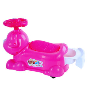 Lovely Plastic Baby Potty with Removeable Inner Toilet pictures & photos