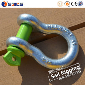 Us Type Bow Shackle Sr-G-209-J pictures & photos
