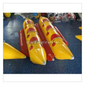 Custom Made Double Row Inflatable Banana Boat Water Paddle Boat
