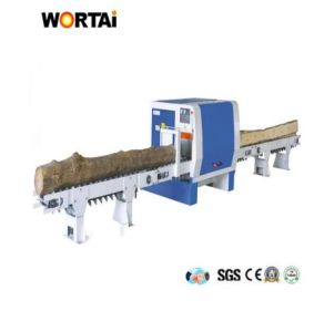 Woodworking Cutting Round Log Multi Rip Saw Machine pictures & photos