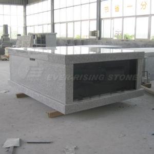 China Granite Double Crypts Mausoleum