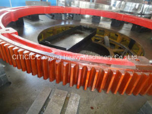 Large Module Cast Girth Gear Ring for Rotary Kiln pictures & photos