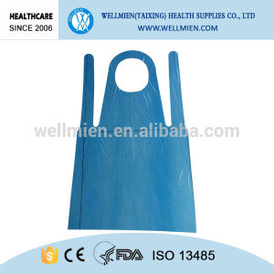 Disposable Medical PE Apron for Workshop/Food Industry pictures & photos