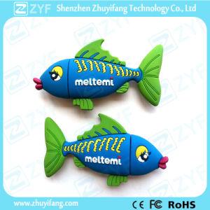 Custom PVC Tropical Fish 4GB USB Flash Drive (ZYF1000) pictures & photos