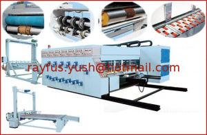 Chain Feeding Flexo Printing Slotting Die-Cutting Machine pictures & photos