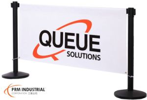 Stanchion Banners Suitable for Indoor or Outdoor Use pictures & photos