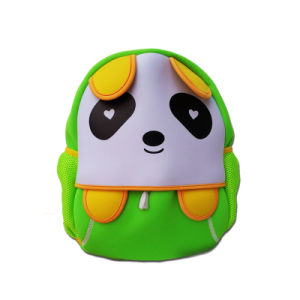2016 Newest Cartoon Panda Neoprene Backpack for School Children pictures & photos