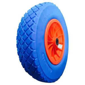 "16 Inch 16""X4.80/4.00-8 Flat Free PU Foam Wheel pictures & photos"