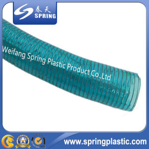 PVC Steel Wire Reinforced Industrial Water Discharge Pipe Hose pictures & photos