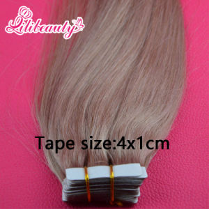 Ombre Color Tape Brazilian Remy Human Hair Extension pictures & photos