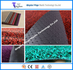 PVC Car Mat Customized PVC Coil Mat with Spike Backing in Roll pictures & photos