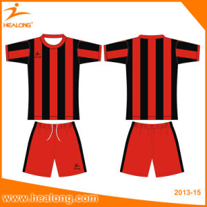 Best Seling Clothing Sublimation Men′s Football Jersey pictures & photos