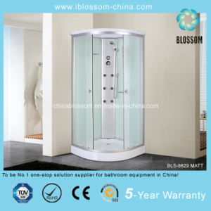 High Quality Sliding Door Corner Steam Shower Room (BLS-9829MATT) pictures & photos