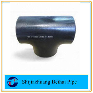Carbon Steel Bw Pipe Fitting Sch40 Smls Equal Tee pictures & photos
