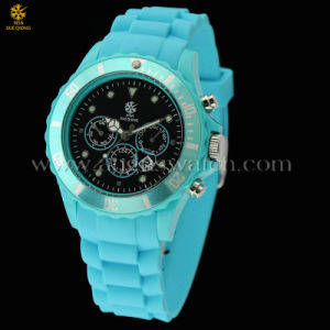 Hot Silicone Watch for Promotion Gifts with 3ATM and Japan Quartz Movement of The Factory Competitive Price