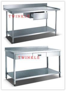 Working Bench with Drawer/Splash&Under Shelf (HWB SERIES) pictures & photos
