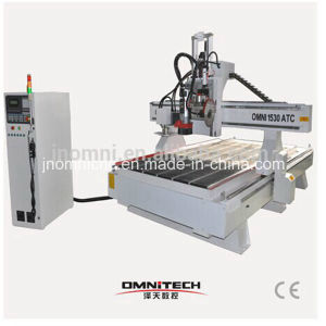 Wood Design Saw Cutting CNC Router with SGS Ce pictures & photos