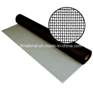 18*16mesh Black (charcoal) Fiberglass Window Screen Mesh pictures & photos