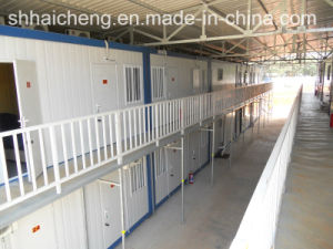 Two Story Building Using as Container Accommodation (shs-mh-accommodation001) pictures & photos