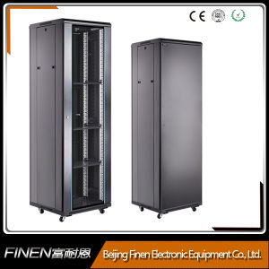 Factory Direct Sale A2 Series 19 -Inch 22u Floor Standing Network Cabinet with Locking pictures & photos