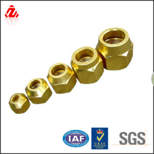 M2-M12high Quality DIN Brass Nut pictures & photos