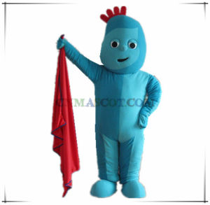 Iggle Piggle Cartoon Character Costume Good Quality