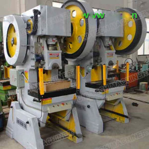 Mechanical Power Press Machine J23 Series Open Back Inclinable pictures & photos
